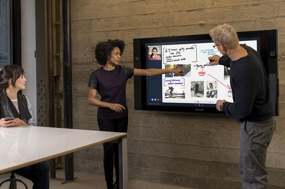 Microsoft Surface Hub als digitales Whiteboard