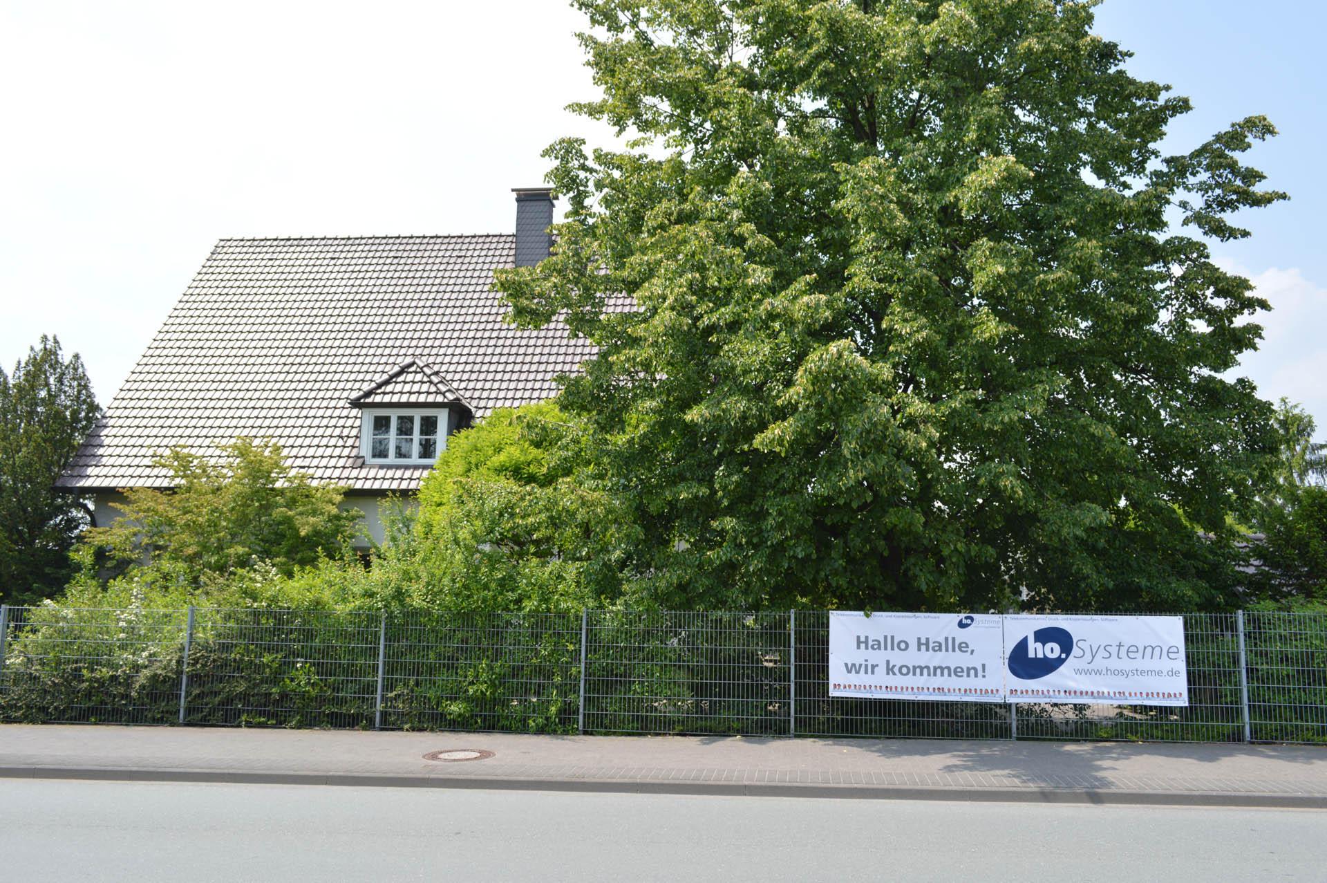 Die neue Firmenzentral von ho.Systeme vor dem Umbau