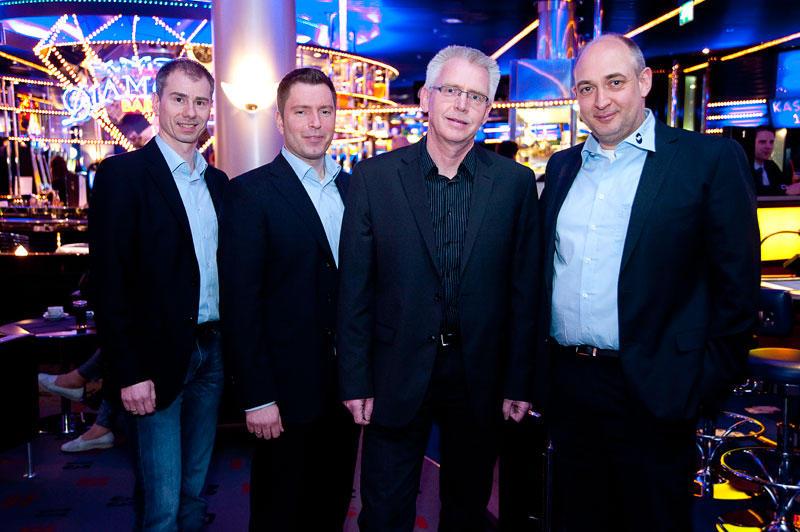 Manuel Bürger, Michael Müller, Heiner Temme und Peter Horvath (Foto: © Webestudio Hild)