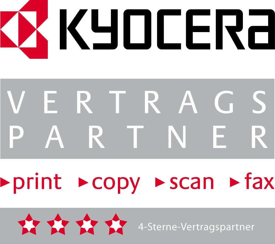 Kyocere 4 Sterne Partner Logo