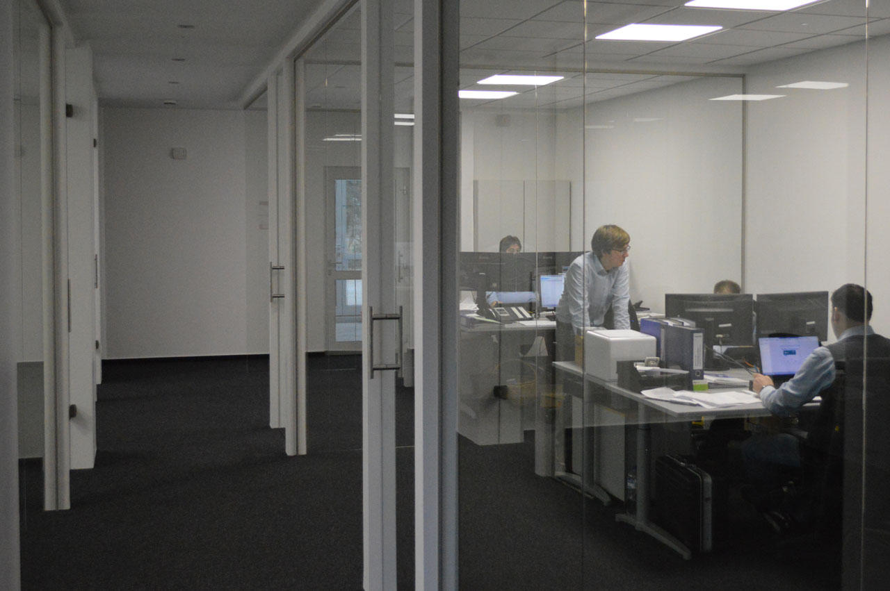 Neues Räumlichekeiten für die Abteilung IT-Technik