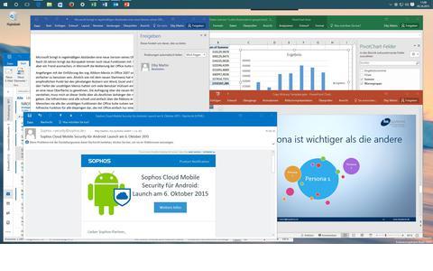 Das neue Microsoft Office 2016 auf Windows 10